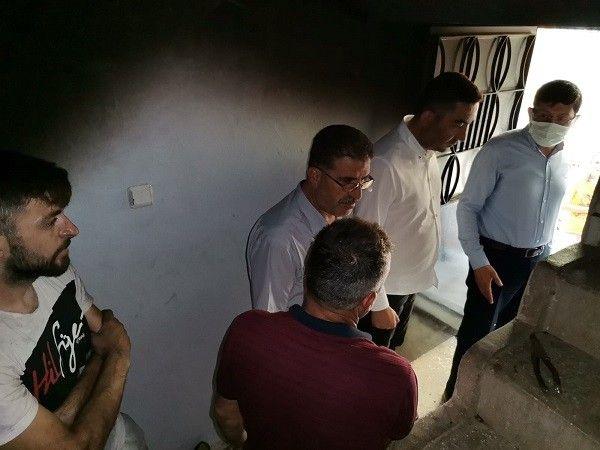 Nazilli Belediyesi evi yanan çifti unutmadı