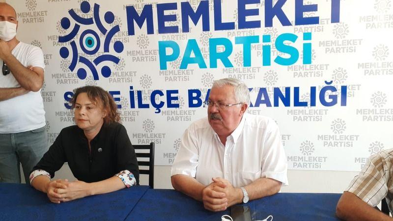 Memleket Partisi Söke İlçe kongresi yapıldı