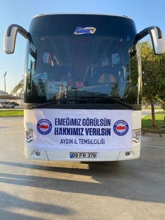 Memurlar Ankara'ya gidiyor