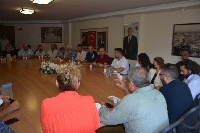 AK Partili Posacı ve Özmen'den Söke çıkarması