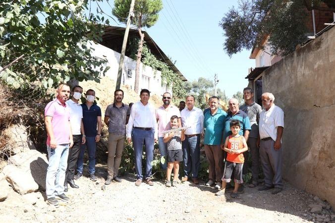 Nazilli'de Pınarbaşı'ndan Başkan Özcan'a teşekkür