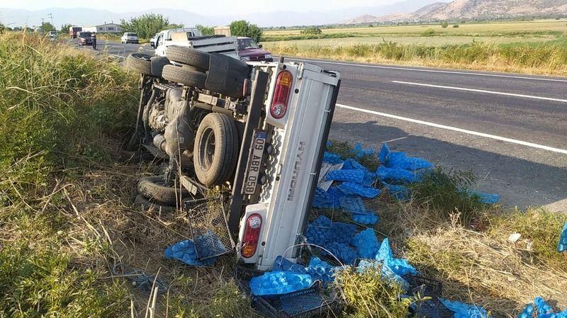 Nazilli Bozdoğan yolunda kaza