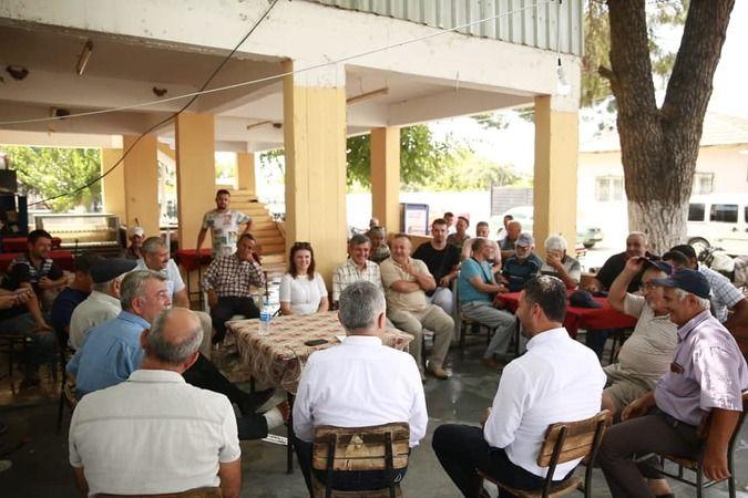 Karayolları Bölge Müdürü'nden İncirliova'ya ziyaret