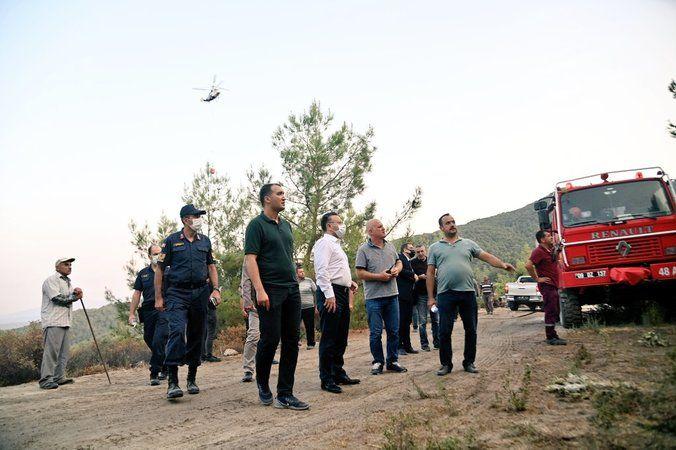 50 hektar alan zarar gördü