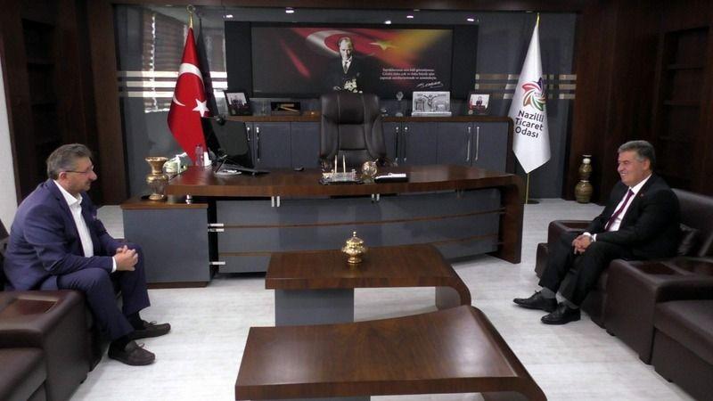 Başkan Erol'dan NTO'ya ziyaret