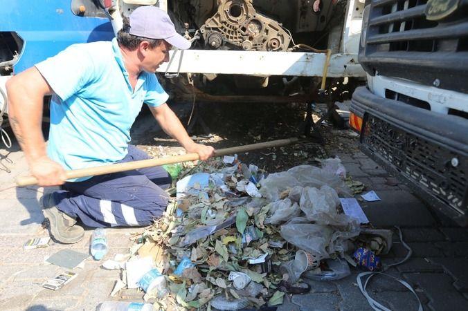 Efeler'de Sanayi Sitesi temizlendi