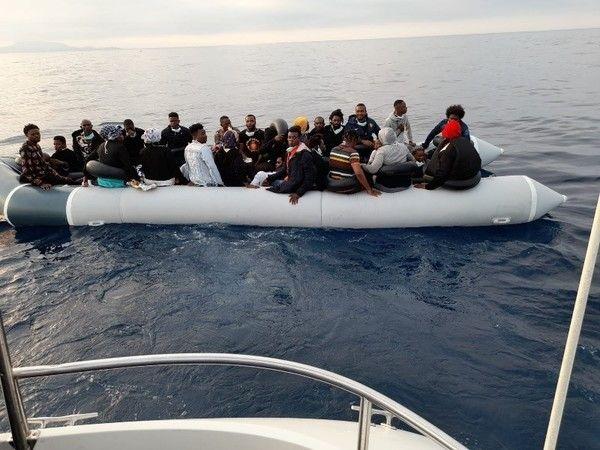 Kuşadası'nda düzensiz göçmen operasyonu