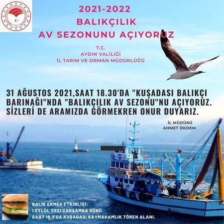 Aydın'da balık avı sezonu açılıyor