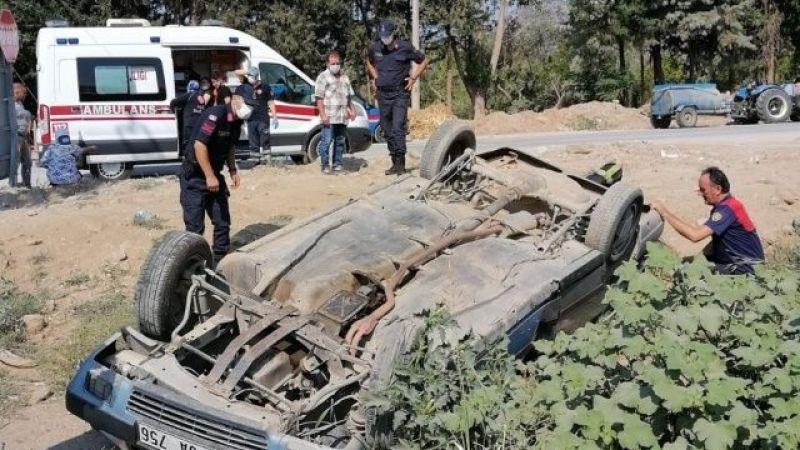 İncirliova'da kaza