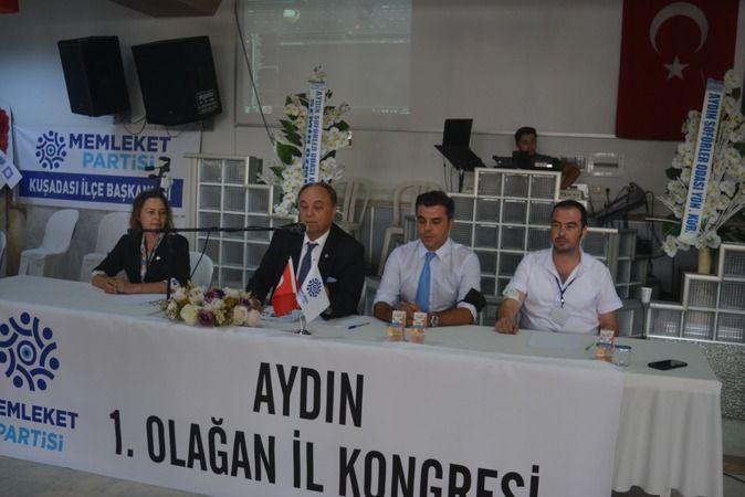 Memleket Partisi Aydın'da kongre gerçekleştirildi