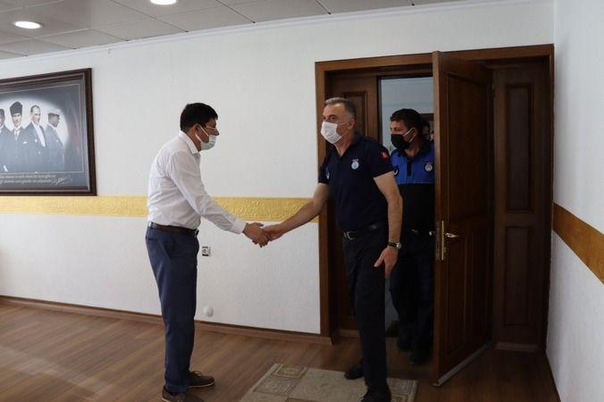 Başkan Özcan Zabıta Haftası'nı kutladı