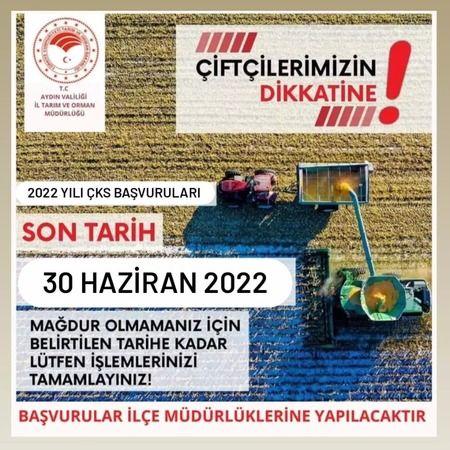 Aydın'da ÇKS kayıtları başladı