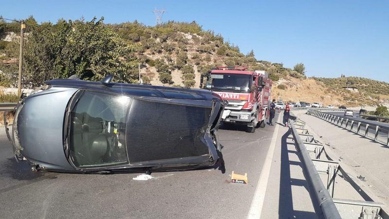 Söke Çevreyolu'nda kaza