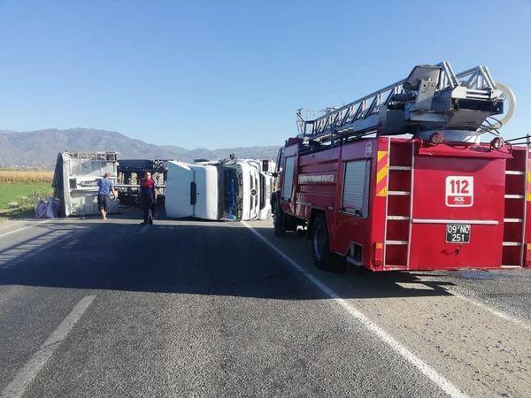 Yenipazar'da kaza