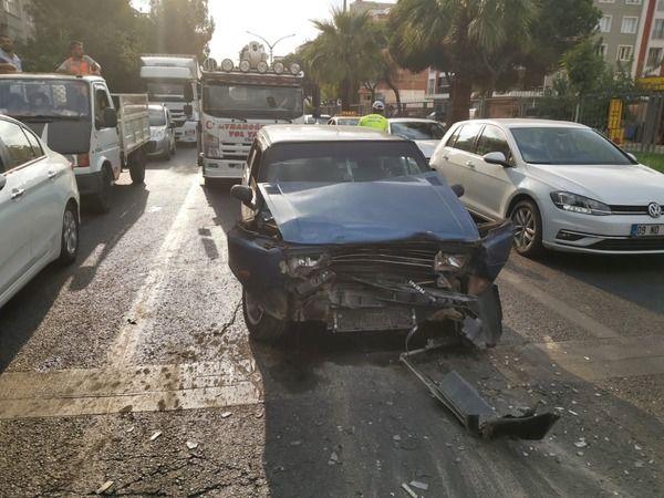 Nazilli'de kaza 1 yaralı
