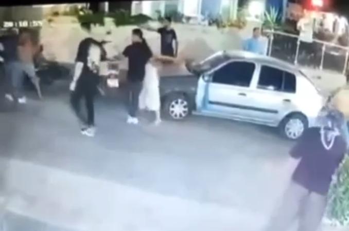 Kuşadası'ndaki cinayet kameralarda