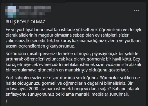 Aydın'da öğrenciler isyanda
