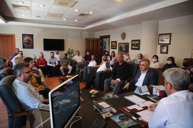 AK Parti'den Başkan Erikmen'e ziyaret