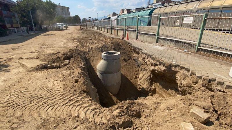 Büyükşehir'in otopark projesine kanalizasyon engeli