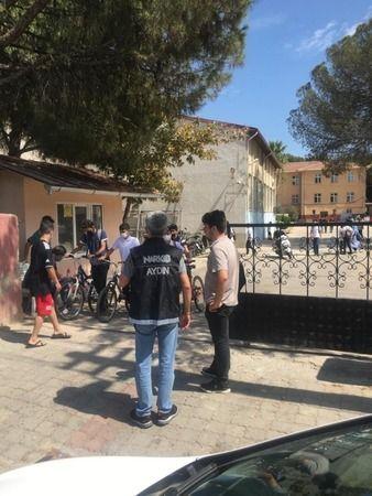 Nazilli'de polisten okul çevrelerinde sıkı denetim