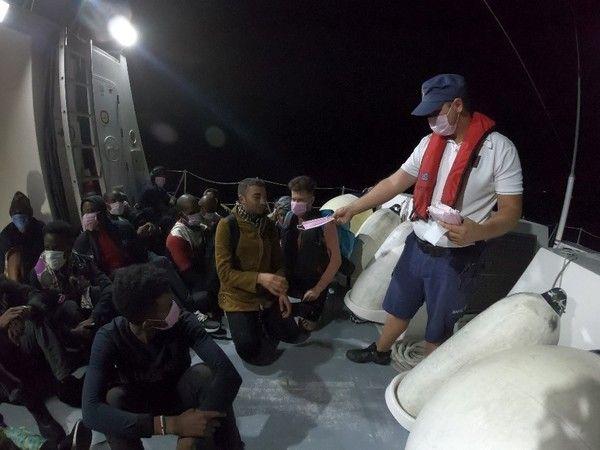 Didim'de düzensiz göçmen operasyonu
