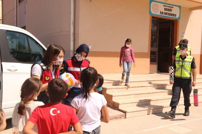 Aydın'da jandarma görevde