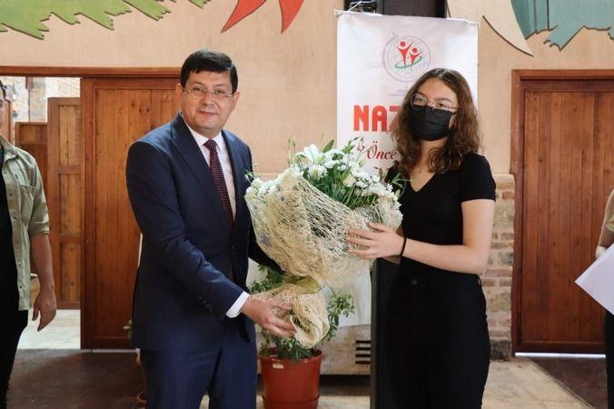 Başkan Özcan NAZGEM öğrencileriyle buluştu