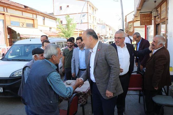 AK Partili Yavuz Dadaşlar Şehri'nde