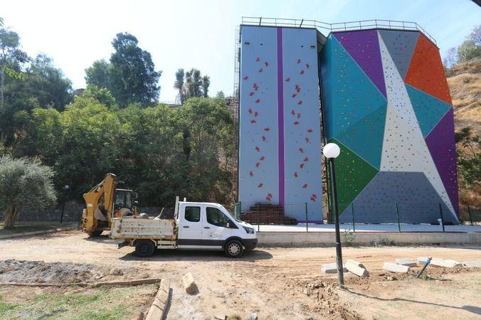 Efeler'e olimpik standartlarda tırmanma duvarı