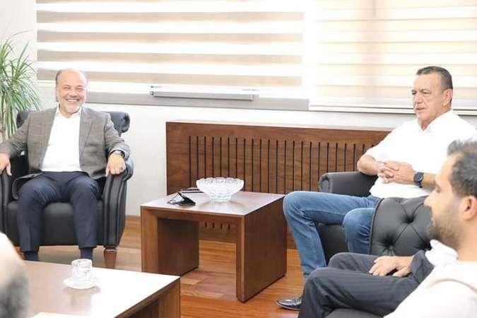 AK Parti'li Yavuz'dan TARİŞ'e ziyaret