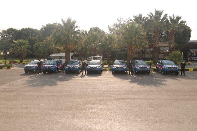Aydın'da jandarmaya 8 yeni araç
