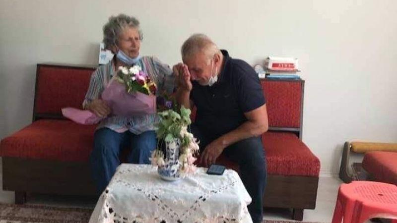 Ali Uzunırmak'tan duygulandıran Ziyaret