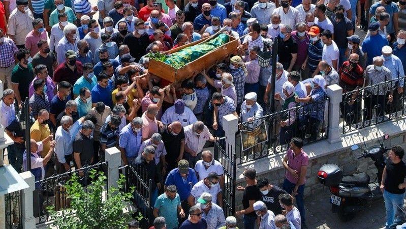 Köşk'te meclis üyesi Tunç'a son görev