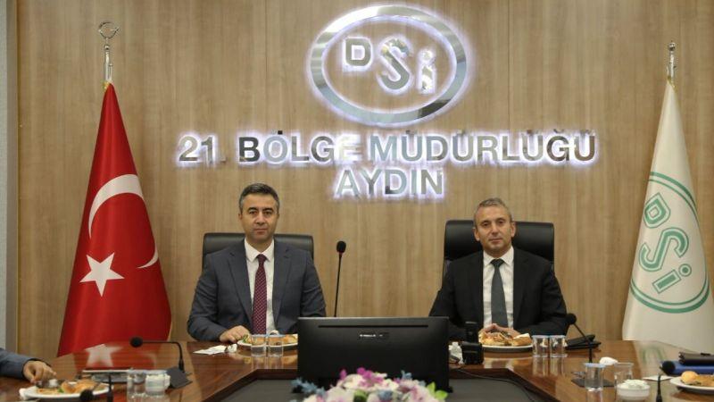 DSİ Aydın'da bayrak değişimi