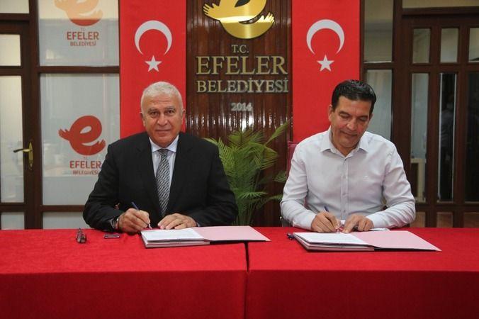 Efeler Belediyesi protokolü yeniledi