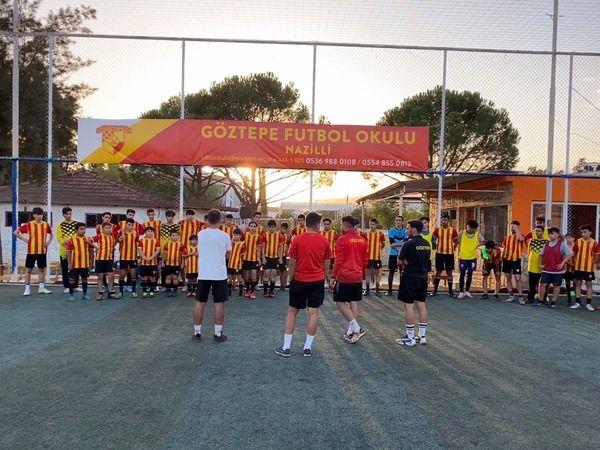 Göztepe Nazilli'de futbol okulu açtı