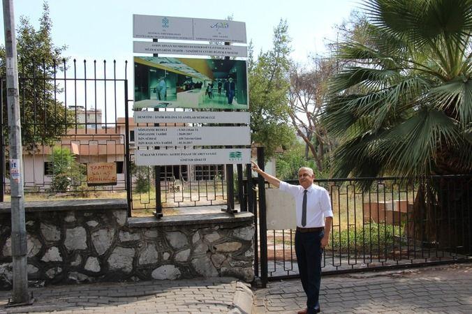 Aydın'da eski müze binası içler acısı halde