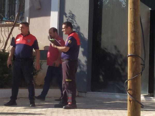 Aydın'da korkutan yangın