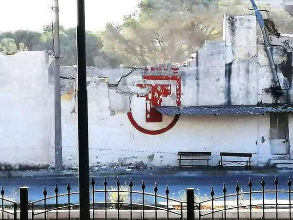 TARİŞ binaları yıkılıyor