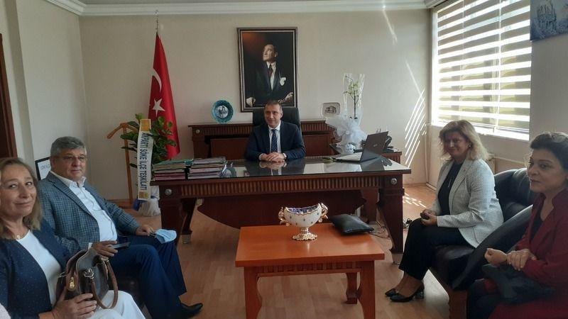 AK Parti'li Posacı'dan Söke'ye ziyaret