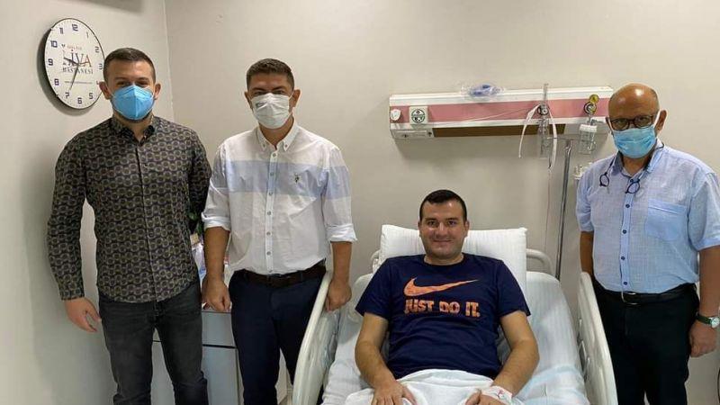 MHP'li Pehlivan ameliyat oldu