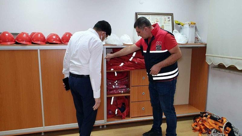 Nazilli'de amatör telsizciler afetlere hazır
