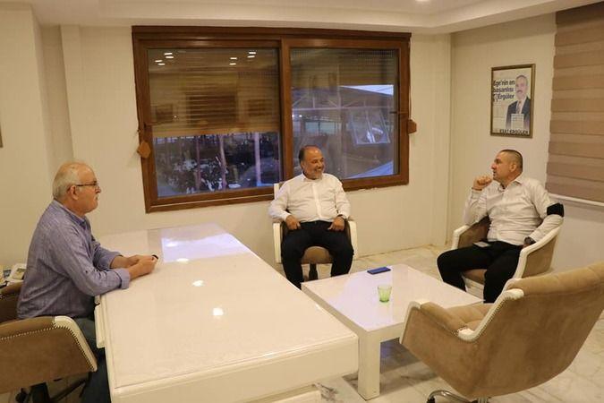 Yavuz'dan efsane başkana ziyaret