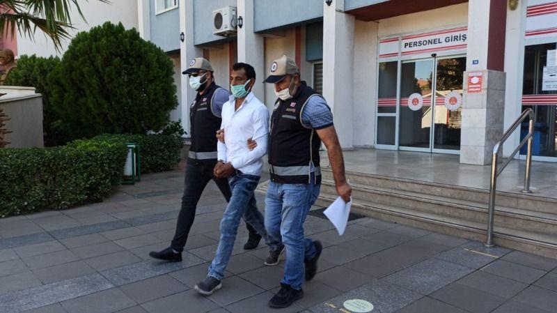 Nazilli'de azılı hırsız baltayı taşa vurdu