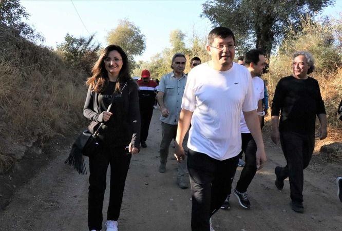 Nazilli'de sağlık için yürüdüler