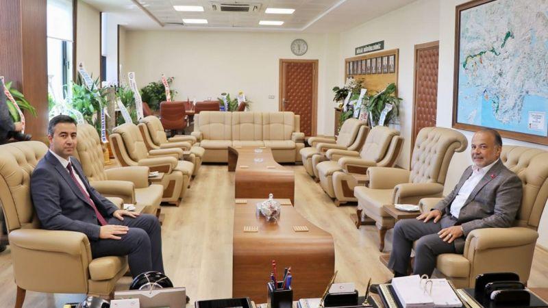 Yavuz'dan DSİ'nin yeni müdürüne ziyaret