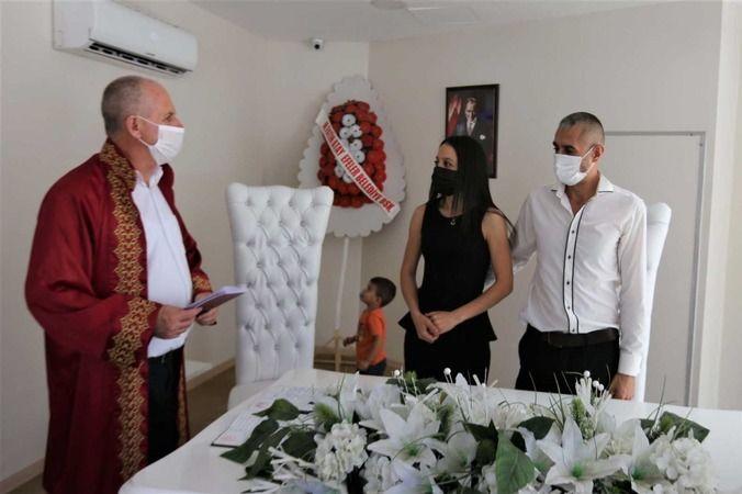 Evlenen çiftlerin sayısı arttı