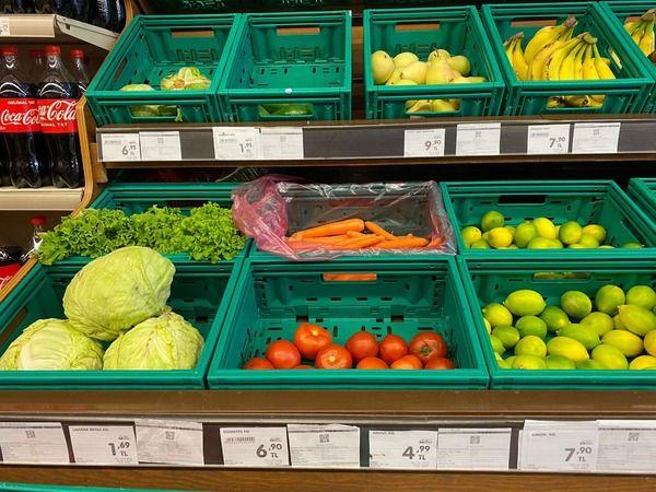 Nazilli'de meyve sebze fiyatları ne durumda