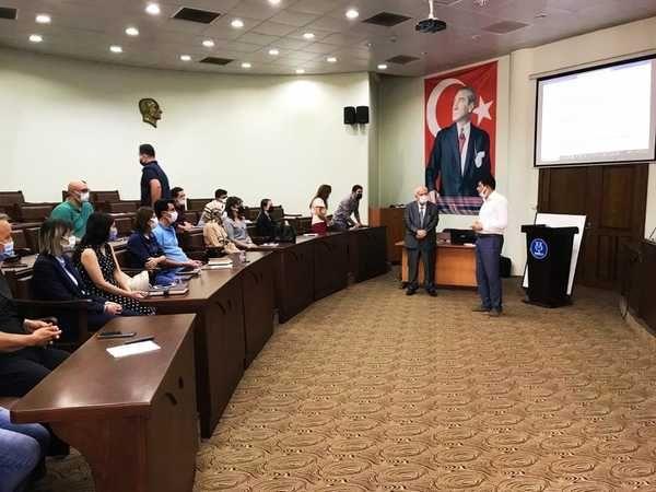 Nazilli Belediyesi'nde eğitimler devam ediyor