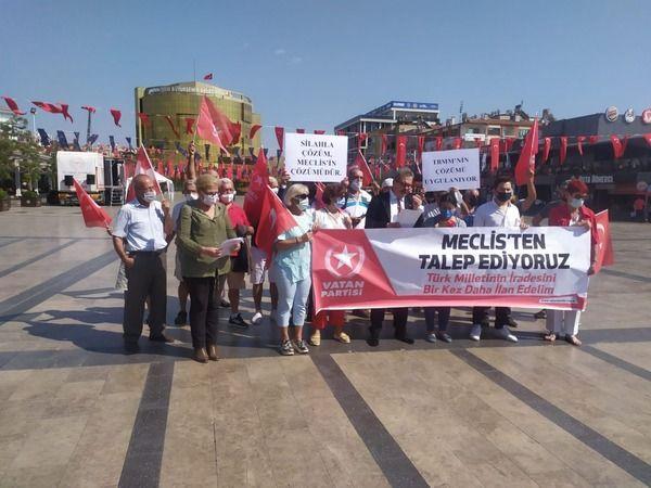 Vatan Partisi'nden, Kürt sorununu gündeme getiren muhalefete tepki